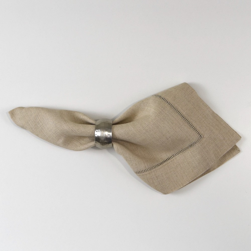 Natural Hemstitch Dinner Napkin