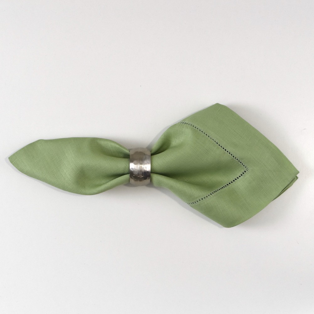Sage Dinner Hemstitch Napkin