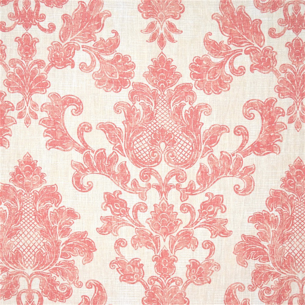 Antibes Damask Blush on Ivory