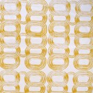 Modern Rings Mustard on Ivory