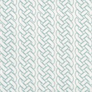 Savoy Faded Turquoise on Ivory Grace